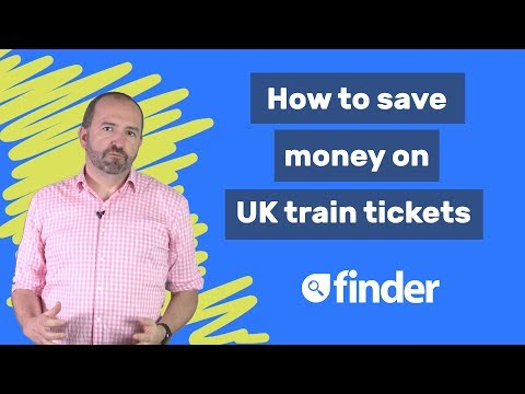 How to save money on UK train trips