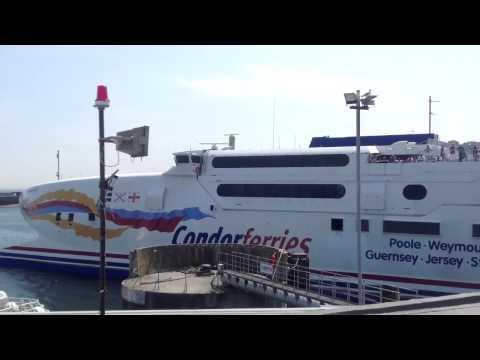 Condor Vitesse departs Guernsey