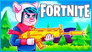 *NEW* SUPPRESSED ASSAULT RIFLE in Fortnite: Battle Royale! (Fortnite Silenced Scar Gameplay)