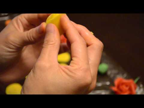 Creating a Marzipan Rose
