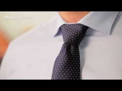 How To Tie A Windsor Knot Men S Fashion