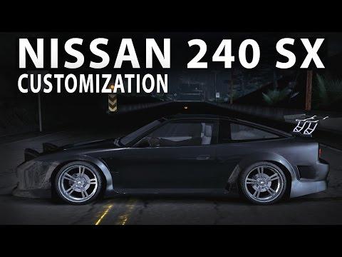 NFS Carbon C.E - Nissan 240 SX (customization)