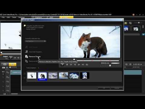 Creating a DVD Menu in VideoStudio Pro X5