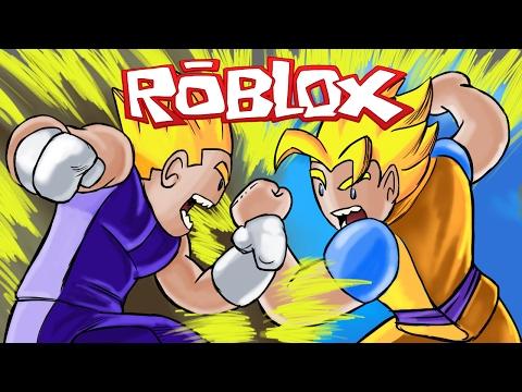 Roblox | DRAGON BALL Z: Goku vs Vegeta! (Roblox Adventures)