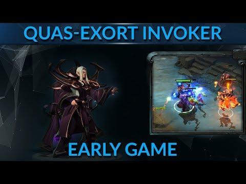 Quas-Exort Invoker mid is breaking the meta - here's how...