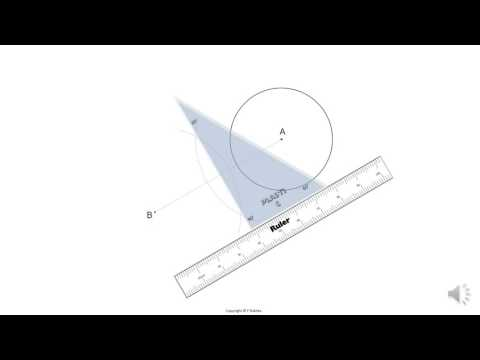 Gr8   Tutorial 27   Tangent from a point to edge of circle