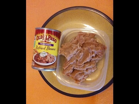 Get refried beans out of the can quick and easy