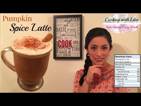 Pumpkin Spice Latte - How to make Pumpkin Spice Latte - Homemade Pumpkin Spice Coffee Recipe