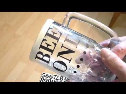 Etching a Beer Mug with a Dremel