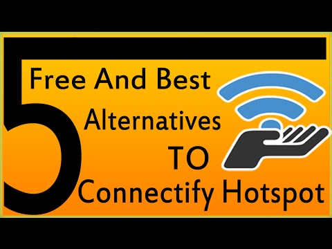 5 Free And Best Connectify Alternatives For Windows 7,  XP, Vista Windows 8
