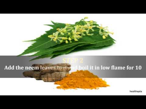 Neem and Turmeric to Reduce Breast Size at Home