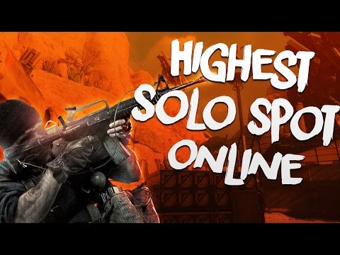 GLITCH! SOLO MULTIPLAYER GLITCHES! Black Ops 3 Glitches! Highest Solo Spot Online! (COD BO3 GLITCH)