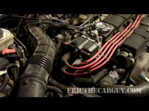 Replacing a Distributor, Acura Integra - EricTheCarGuy