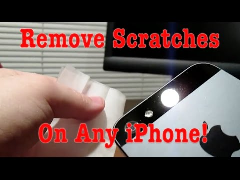 How To: Clean and Remove Scratches on the iPhone