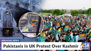 Pakistanis in UK Protest Over Kashmir