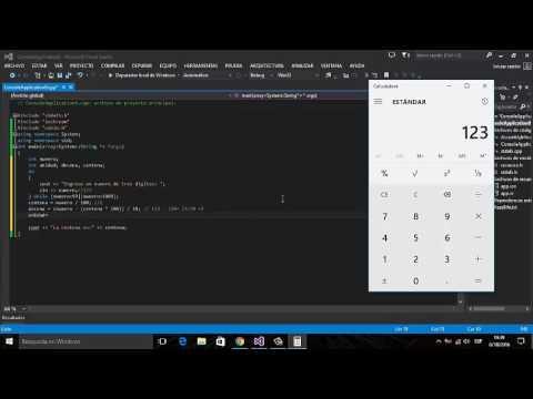 Separar Numero en Unidades, Decenas y Centenas en C++    Visual Studio    Empleo del Do - While