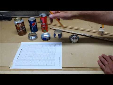Alcohol Stove Inner Wall template