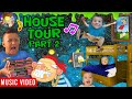 FV FAMILY House Tour 2.0 🎵 RAPTAIN HOOK (Mikes room gives us Goosebumps + Shawn Gets Sneaky!  Song)
