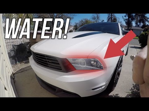 How to Remove Headlight Condensation! (Easiest Way)