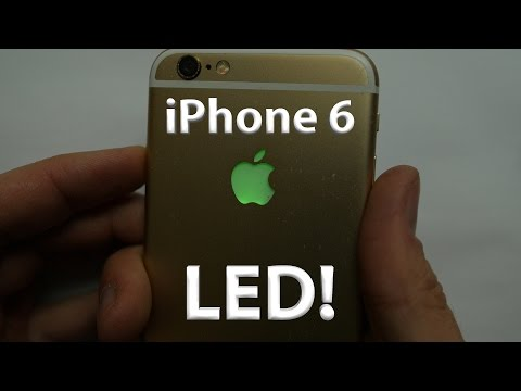 iPhone 6 LED Light up Apple Logo - DIY - lots of colors!