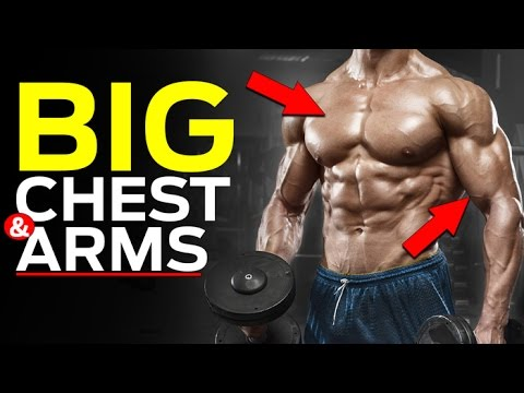 How To Get Bigger Arms And Chest (INTRODUCING 'TOUCH-UP' SETS!)