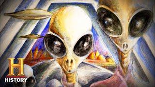 Ancient Aliens: Aliens Human Hybrids Revealed (Season 4) | History