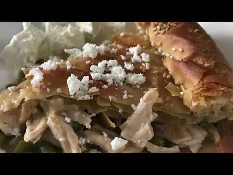 Chicken Pot Pie-Greekstyle-Kotopita By AGREEKTWIST