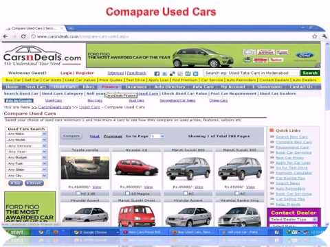 Used Cars For Sale, Check Used Car Prices, Compare Cars