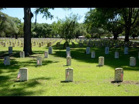 Beaufort National Cemetery finds temporary fix for rust stains on headstones