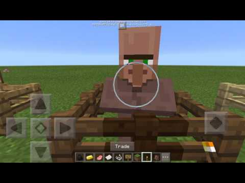Minecraft Pocket Edition 1.0.4 Beta Build 1- Trading!