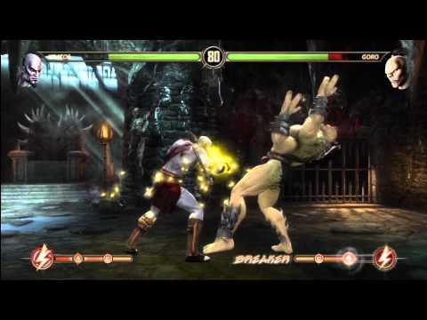 [HD] MK9 Kratos Ladder Gameplay Pt. 4