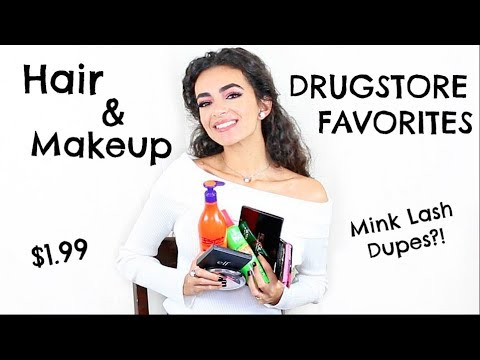 DRUGSTORE FAVORITES - HAIR & MAKEUP PRODUCTS!