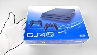 $25 Fake PS4 Pro Console Unboxing...