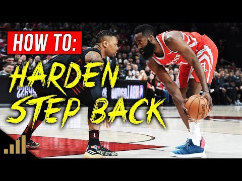 How to: James Harden STEP BACK Tutorial! (EASILY Create Space for Your Jump Shot)