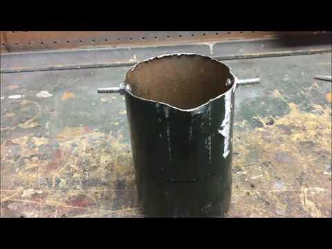Easy Homemade Crucible