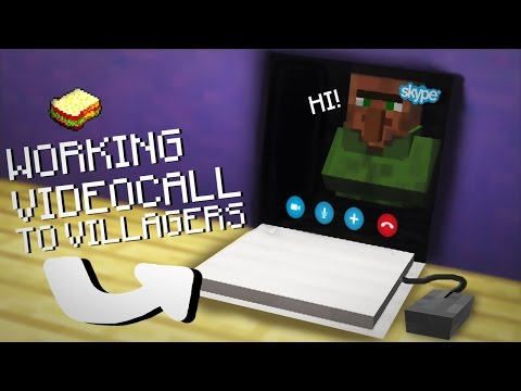 Minecraft, MCPE | How to make a Working Usable, Charging Laptop | No Addons
