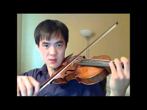 Tutorial: Samvel Yervinyan's Fast Violin Solo