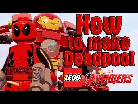 How to make Deadpool in LEGO Marvel`s Avengers