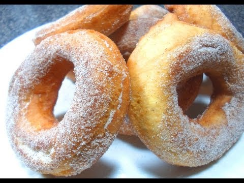 How to make Cake Donuts - Easy Cooking!