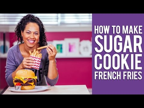 How to Make Sugar Cookie French Fries | Yolanda Gampp from How to Cake It