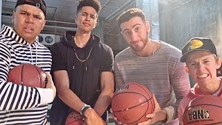 YOUTUBER BASKETBALL CHALLENGE