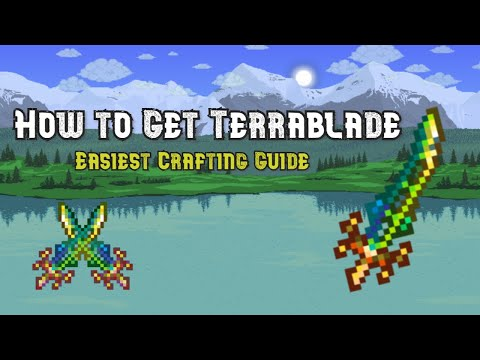 [Terraria] How to get the Terrablade!!