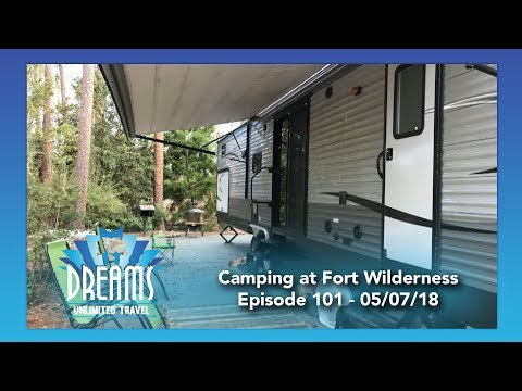 Staying at Fort Wilderness in a Camper | 05/07/18