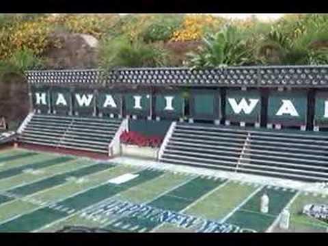 Hawaii Football Backyard