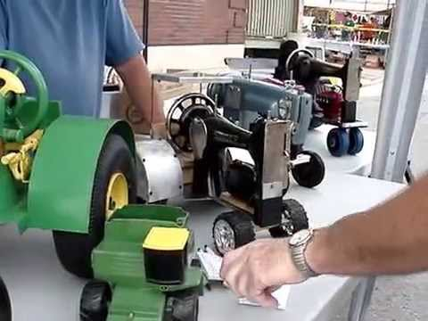 WAMBO Sewing Machine Tractors