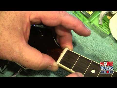 Installing a TUSQ Nut On My Cheap Mandolin