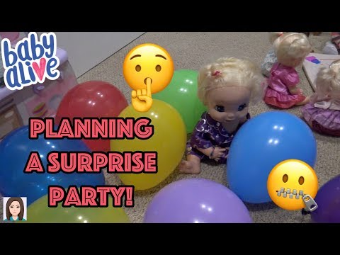 Baby Alives Plan Secret Surprise Party For Mommy!
