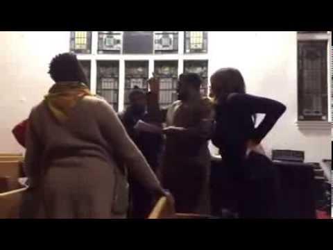 Preview, Vocalist Rehearsal, Greater Allen AME Church Valentines Gospel Jazz Cafe