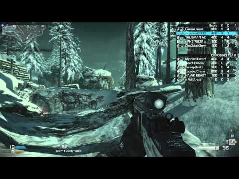 Call of Duty Ghosts - TDM - Whiteout (12/15/2013) - (75-45)
