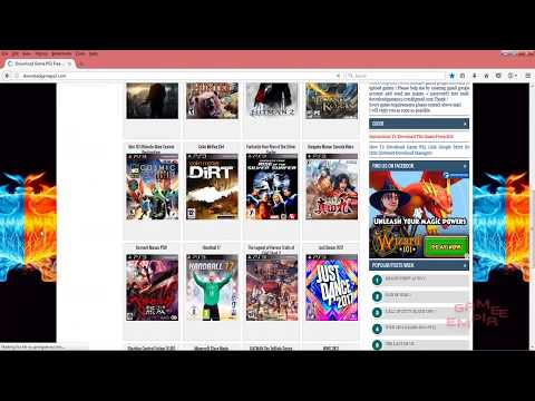 Easiest Way | To Download Any | PlayStation 3 | game 2018